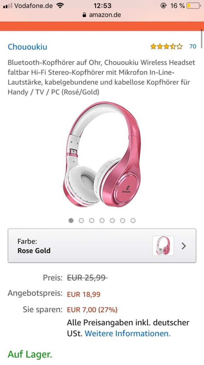 Bluetooth kopfhörer httpswwwamazondegpawdB075ZTRYRV