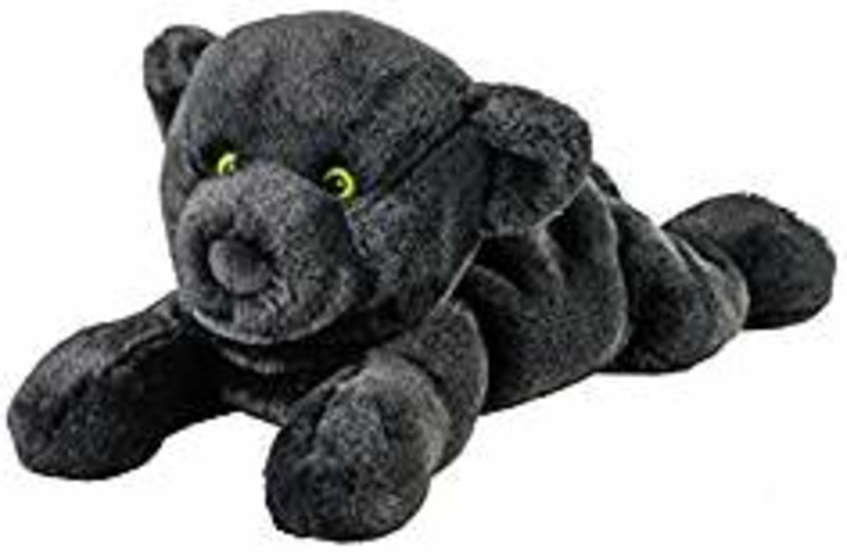 Warmies Panther Wärmekissen Hirse