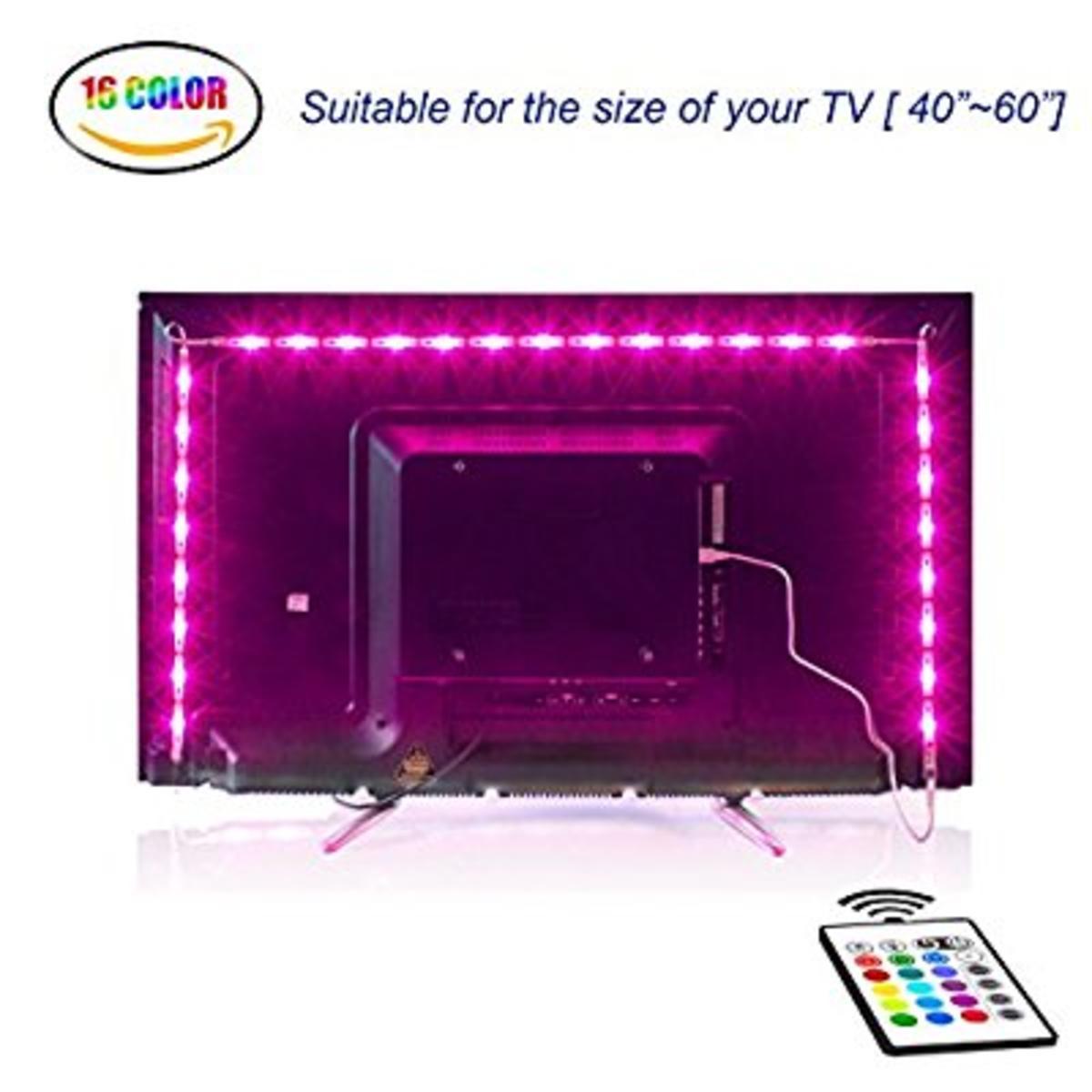 Led TV Hintergrundbeleuchtung2M USB Led Beleuchtung