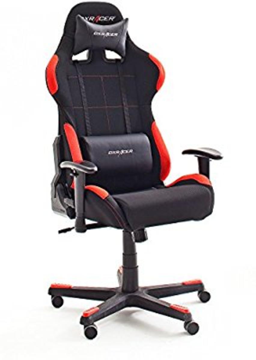 DX Racer1 Gamingstuhl Schreibtischstuhl