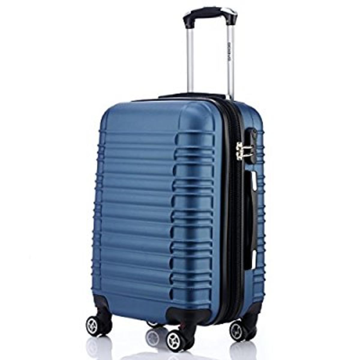 BEIBYE Zwillingsrollen Reisekoffer Koffer