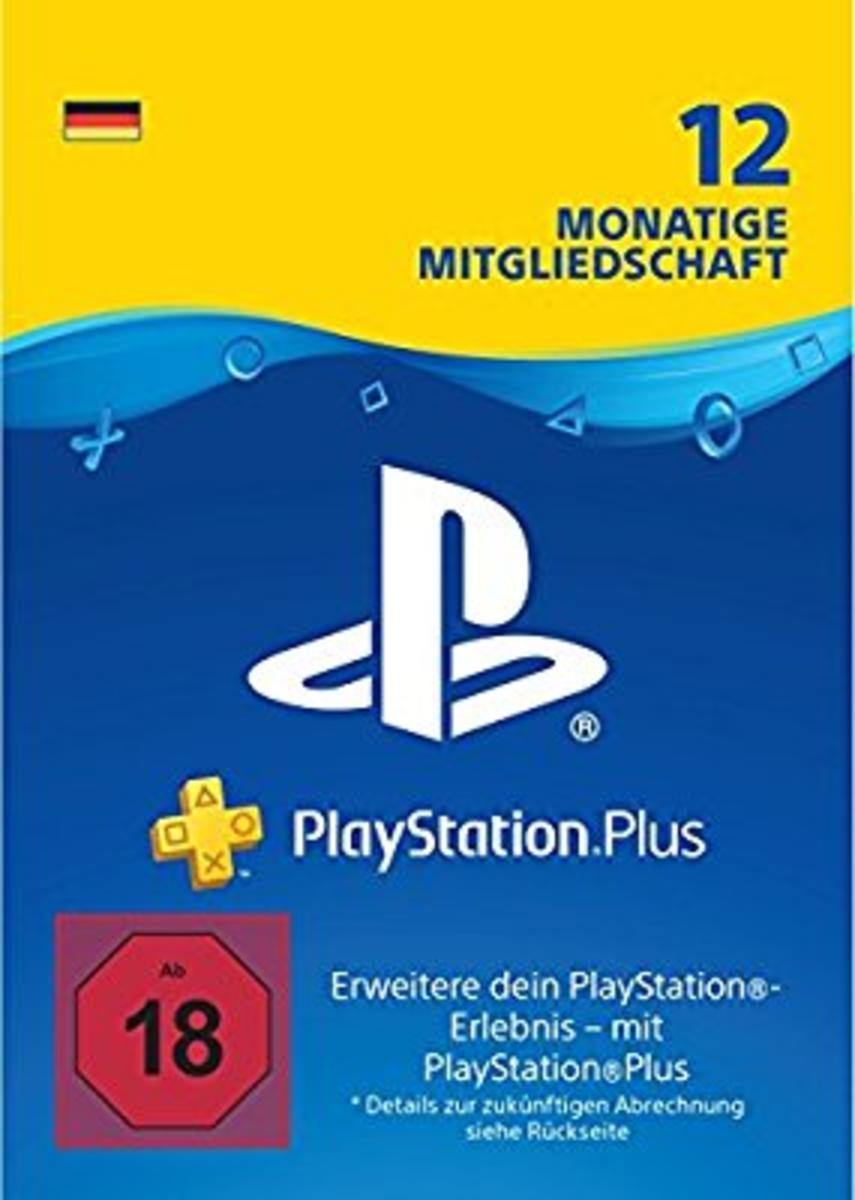 PlayStation Plus Mitgliedschaft 12