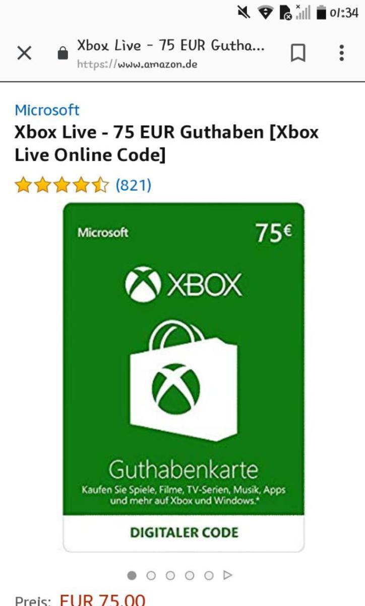 Xbox guthaben 2x
